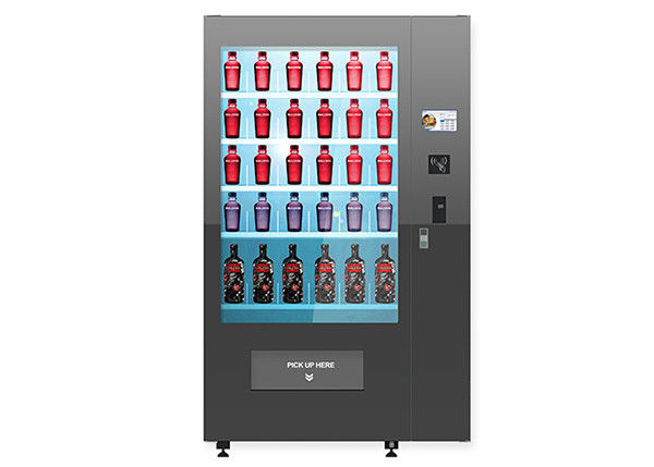 Multi Languages Healthy Food Vending Machine For Nutrition Salad / Cupcake