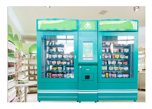Pharmacy Vending Machines for Sale Medicine Drugs with Ads Screen