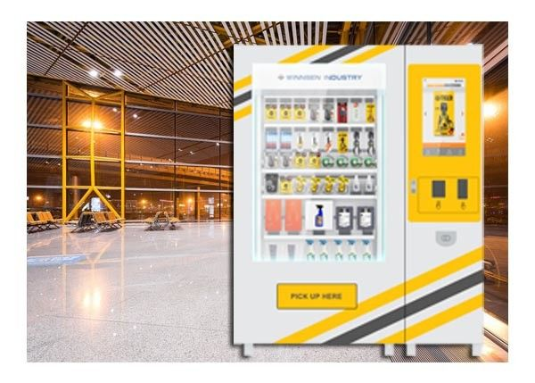 Customized Size Mini Mart Vending Machine , Industrial Tool Vending Machine