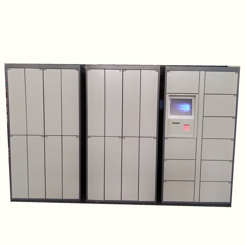 Metal Storage Barcode / Electronic Laundry Locker , School Student Gym Intelligent Lockers